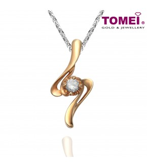 TOMEI 18K Rose Gold Diamond Pendant (DP0105120)
